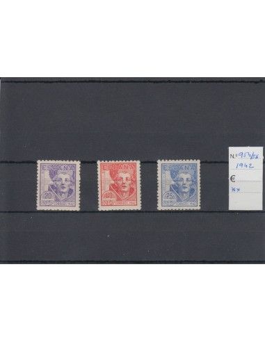 Nº0954/56 - 1942, NUEVO SIN CHARNELA