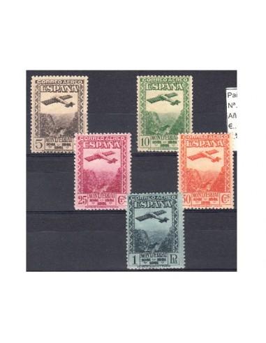 Nº0650/654 - 1931SERIE COMPLETA EN NUEVO SIN CHARNELA