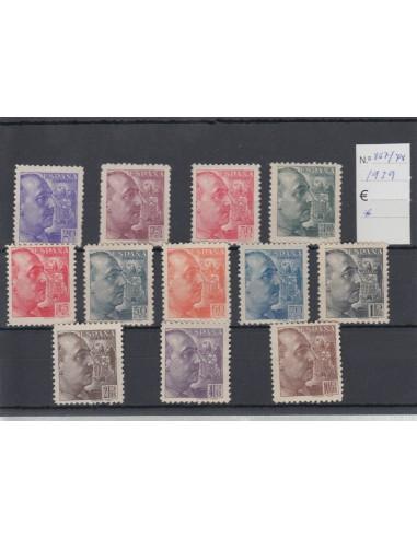 Nº0867/78 - 1939, NEVO CON CHARNELA, franco